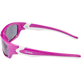 Alpina Flexxy Teen Glasses Youth berry-white